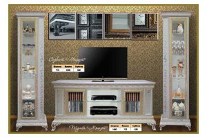 Мебель в гостиную Моцарт - Мебельная фабрика «ЭдРу-М»