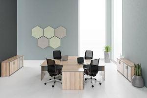 Мебель в кабинет Практик Нью - Мебельная фабрика «FUTURA»