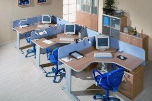 Мебель в офис цветная - Мебельная фабрика «Универсал Мебель»
