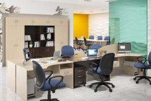 Мебель в офис ЛДСП - Мебельная фабрика «Универсал Мебель»