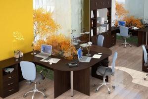 Мебель в офис венге ЛДСП - Мебельная фабрика «Универсал Мебель»