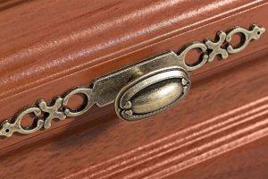 Мебельная ручка-кнопка A108-002 - Оптовый поставщик комплектующих «Каскад Фурнитура»
