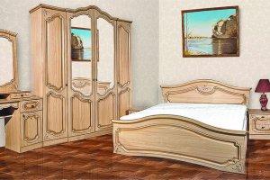 Спальня Анастасия - Мебельная фабрика «Кубань-мебель»