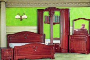 Спальня Палермо 4-дверная радиусная - Мебельная фабрика «Кубань-мебель»