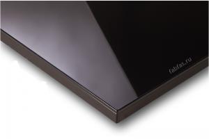 Мебельный фасад ACRYLUX черный - Оптовый поставщик комплектующих «Первая Фабрика Фасадов»