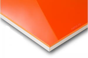 Мебельный фасад ACRYLUX мандарин - Оптовый поставщик комплектующих «Первая Фабрика Фасадов»