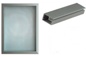 Мебельный фасад алюминиевый Z1 - Оптовый поставщик комплектующих «ТИМБЕРЛЭНД»