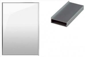 Мебельный фасад алюминиевый Z12 - Оптовый поставщик комплектующих «ТИМБЕРЛЭНД»