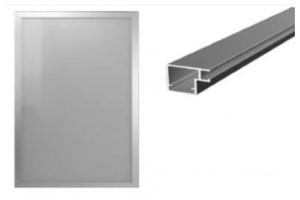 Мебельный фасад алюминиевый Z5 - Оптовый поставщик комплектующих «ТИМБЕРЛЭНД»