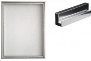 Мебельный фасад алюминиевый Z9 - Оптовый поставщик комплектующих «ТИМБЕРЛЭНД»