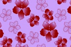 Мебельный фасад  Фиалка красная - Оптовый поставщик комплектующих «Милада»