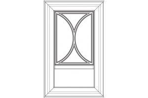 Мебельный фасад Палермо 40525 A1131FL - Оптовый поставщик комплектующих «Макберри»