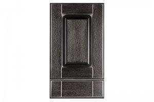 Мебельный фасад Палермо черный - Оптовый поставщик комплектующих «Массив»
