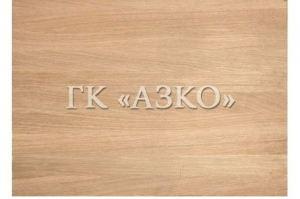 Мебельный щит цельноламельный дуб 1100х300х20 А - Оптовый поставщик комплектующих «АЗКО»