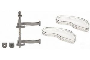 Механизм Fly Moon (комплект) для кухни правый - Оптовый поставщик комплектующих «Аметист»