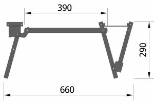 Механизм трансформации Юниор - Оптовый поставщик комплектующих «ПКФ Вира»