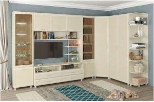 Угловая гостиная Мелисса композиция 19 - Мебельная фабрика «Д'ФаРД»