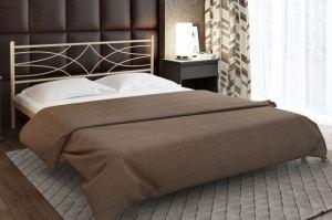 Металлическая кровать Agnet - Мебельная фабрика «Alitte»