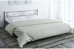 Металлическая кровать Bernadette - Мебельная фабрика «Alitte»