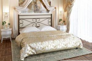 Металлическая кровать Emilie - Мебельная фабрика «Alitte»