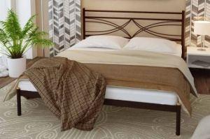 Металлическая кровать Esmeralda - Мебельная фабрика «Alitte»