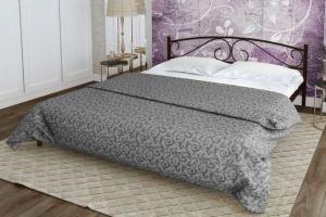 Металлическая кровать Evita - Мебельная фабрика «Alitte»