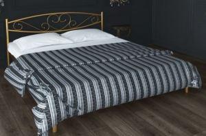 Металлическая кровать Isabelle - Мебельная фабрика «Alitte»