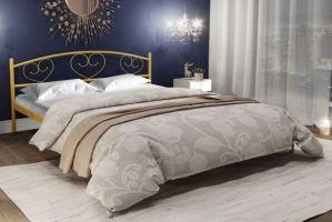 Металлическая кровать Marita - Мебельная фабрика «Alitte»
