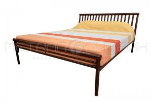 Металлическая кровать Ньютон в стиле Лофт - Мебельная фабрика «Металлодизайн»