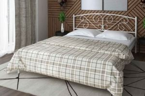 Металлическая кровать Selvana - Мебельная фабрика «Alitte»