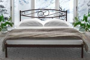 Металлическая кровать в спальню Loretta - Мебельная фабрика «Alitte»