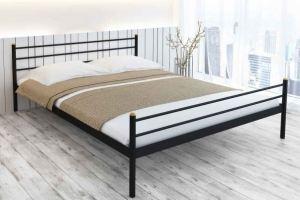 Металлическая спальная кровать Felicity - Мебельная фабрика «Alitte»