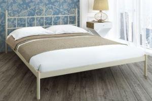 Металлическая спальная кровать Lourdes - Мебельная фабрика «Alitte»
