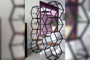 Металлический стеллаж - Мебельная фабрика «Вариант М»