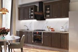Кухня прямая ПВХ Michell - Мебельная фабрика «Энгельсская (Эмфа)»