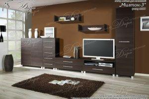 Гостиная Милтон-3 - Мебельная фабрика «Дара»