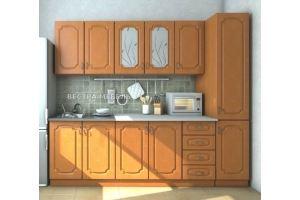 Мини кухня Валенсия ольха матовая - Мебельная фабрика «Вестра»