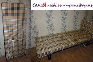 Мобильная раскладная кровать (раскладушка) - Мебельная фабрика «МебельГрад (мебель трансформер)»