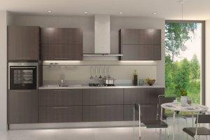 Модель кухни из эко-панелей  TSS Cleaf - Мебельная фабрика «Елиза»
