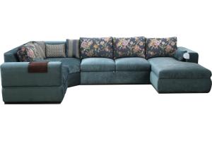 Модельный п-образный диван - Мебельная фабрика «Феникс-М»