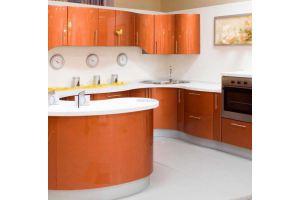 Модная кухня Медь - Мебельная фабрика «Альтернатива»