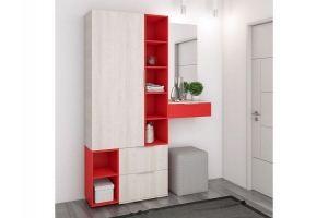 Модная прихожая Сингл - Мебельная фабрика «Первая мебельная фабрика»