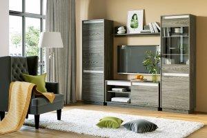 Модули для гостиной VIRGINIA - Мебельная фабрика «Сильва»