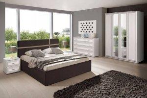 Модульная белая спальня Эллада - Мебельная фабрика «Олмеко»