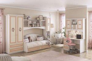 Модульная детская Алиса К1 - Мебельная фабрика «Мебельсон»