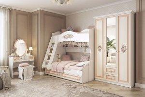 Модульная детская Алиса К2 - Мебельная фабрика «Мебельсон»