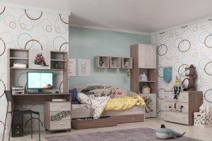 Модульная детская Форсаж - Мебельная фабрика «ТМК (Техномебель)»
