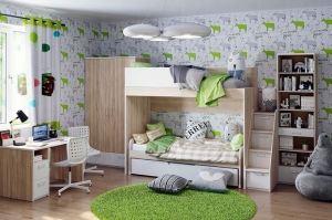 Модульная детская Ивиса 2 - Мебельная фабрика «Артис»