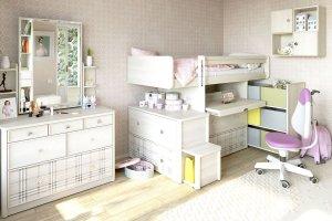 Модульная детская Кембридж - Мебельная фабрика «Сканд-Мебель»