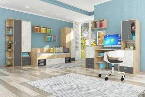 Модульная детская мебель Арчи - Мебельная фабрика «Столлайн»